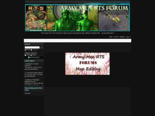 Free forum : Army Men RTS map editing
