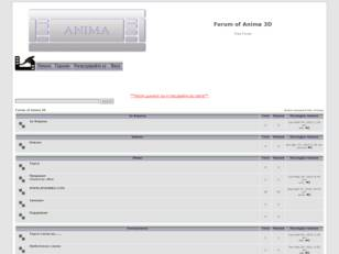 Forum of Anima 3D