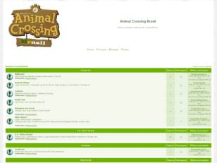 Forum gratis : Animal Crossing Brasil