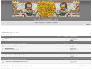 Forum Numismatique de l'ANRD