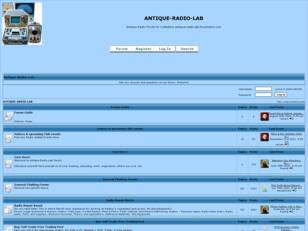 Antique-Radio-Lab, The Best Radio Forum