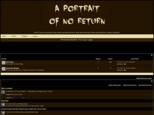 The Portrait Of No Return
