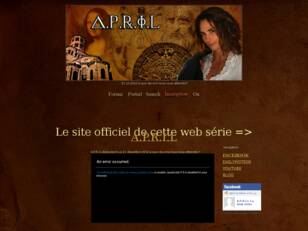 APRIL La Web-Série