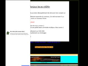 -=ADN=- Arche De Noe -=Call Of Duty 4=- Site: