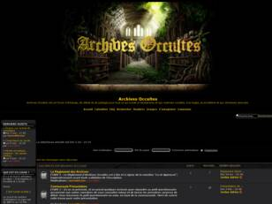 Archives Occultes