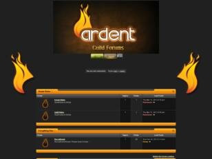 Ardent: Guild Forums