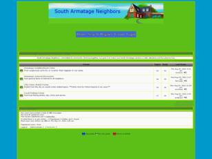 Forum gratuit : South Armatage Neighborhood