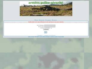 ARMEES - POLICE - SECURITE
