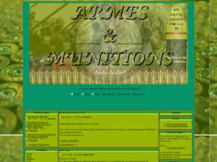 Forum Armes , Munitions, et stand
