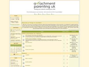 Attachment Parenting UK