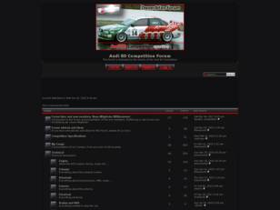 Free forum : Audi 80 Competition Forum