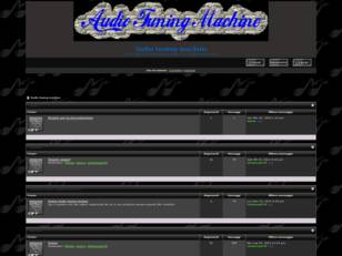 Forum gratis : Audio tuning machine