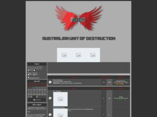 Australian Unit of Destruction Homepage