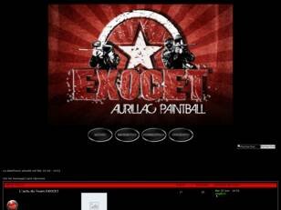 Bienvenue sur le forum EXOCET PAINTBALL !