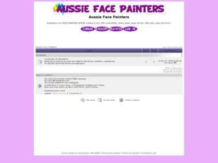 Free forum : Aussie Face Painters