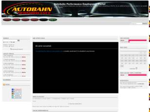 Free forum : Autobahn Performance Employees