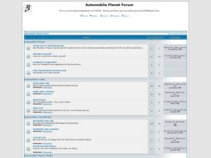 Automobile Planet Forum