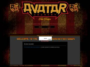 Avatar Metal Band - FanForum