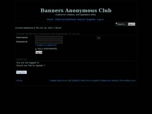 Banners Anonymous Club