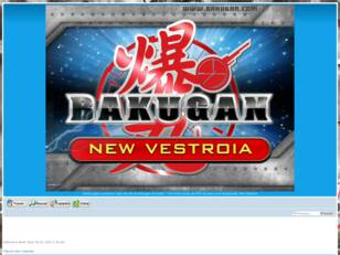 Bakugan New Vestroia Game