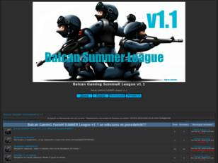 Balcan Gaming SummeR League v1.1