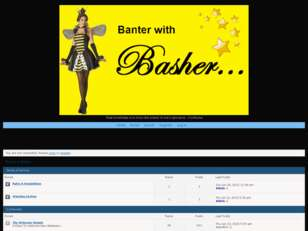 Free forum : Banter With Basher