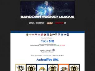 BHL : BarDown Hockey League