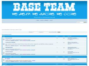 Base Forum: Welcome To The No. 1 Forum In the World