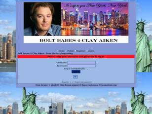 Clay Aiken, Bolt Babes 4 Clay Aiken, BB4CA
