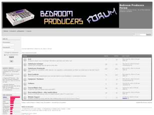 Bedroom Producers Forum