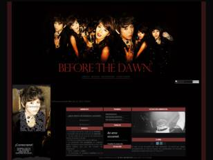「before the dawn」