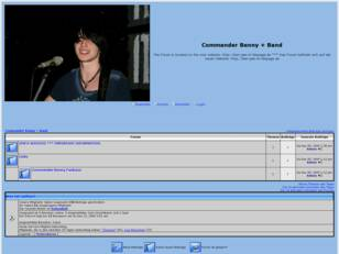 Commander Benny + Band - The Fanbase Forum