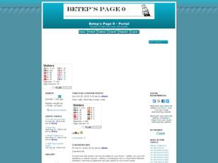Free forum : Betep's Page 0