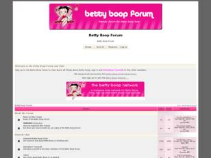 Betty Boop Forum & Chat