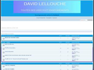 ENSEIGNEMENTS DE DAVID LELLOUCHE
