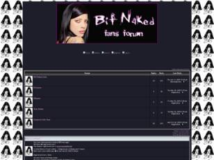 Bif Naked Forum