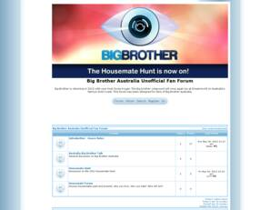 Big Brother Australia Fan Forum