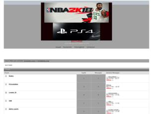 Forum Basket NBA2k sur PS4