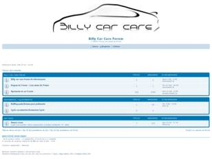 Forum gratis : Billy Car Care Products Forum