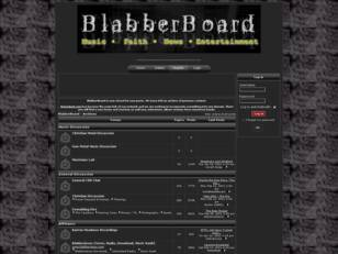 BlabberBoard - Christian Metal Discussion Forum