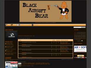 Forumactif.com : Black Airsoft Bear