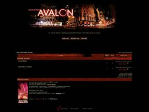 Black As Night: Avalon
