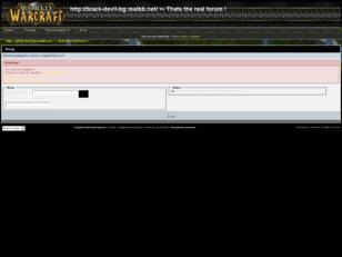 This is the forum of our WOW server.