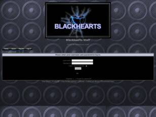 Blackhearts Staff