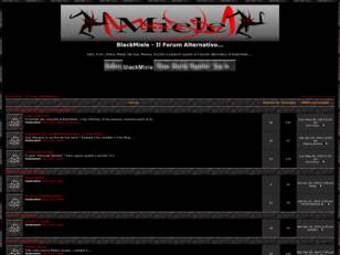 Forum gratis : BlackMiele - Forum Dark,Gotico,Meta