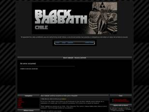 Foro gratis : Black Sabbath Chile