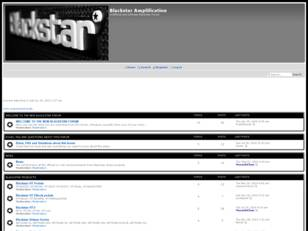 Blackstar Amplification Forum