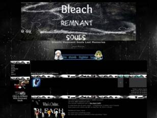 Free forum : Bleach: Remnant Souls