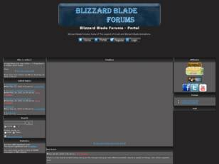 Blizzard Blade Forums Index