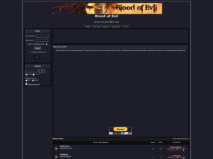 Free forum : Blood of Evil